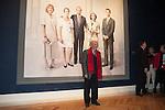 Painter Antonio Lopez attends a painting exhibition at Palacio Real in Madrid, Spain. November 03, 2014. (ALTERPHOTOS/Victor Blanco)