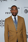 Actor Nathan James arrives at the world premiere of Standing Up, Falling Down at the 2019 Tribeca Film Festival presented by AT&T Thursday, April 25, 2019 at SVA Theater - 333 West 23 Street New York, NY.