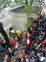 Sao Paulo - SP - 02fev2012 - Depois de desalojados os moradores começaram a montar seus barracos na calçada da Av Sao Joao, alt do 550. Foto: Mauricio Camargo - News Free.