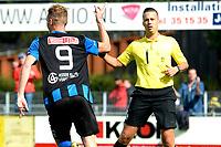 ASSEN - Voetbal, ACV - Harkemase Boys, Derde Divisie, seizoen 2017-2018, 09-09-2017,  ACV speler Pacal Huser viert de 1-0