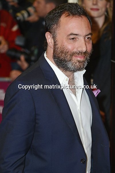 NON EXCLUSIVE PICTURE: MATRIXPICTURES.CO.UK<br /> PLEASE CREDIT ALL USES<br /> <br /> WORLD RIGHTS<br /> <br /> American director Richard Shepard attending the UK premiere of Dom Hemingway, at The Curzon Mayfair in London. <br /> <br /> OCTOBER 28th 2013<br /> <br /> REF: SLI 137031