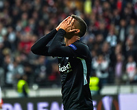 Frust bei  Andre Silva (Eintracht Frankfurt) - 19.09.2019:  Eintracht Frankfurt vs. Arsenal London, UEFA Europa League, Gruppenphase, Commerzbank Arena<br /> DISCLAIMER: DFL regulations prohibit any use of photographs as image sequences and/or quasi-video.
