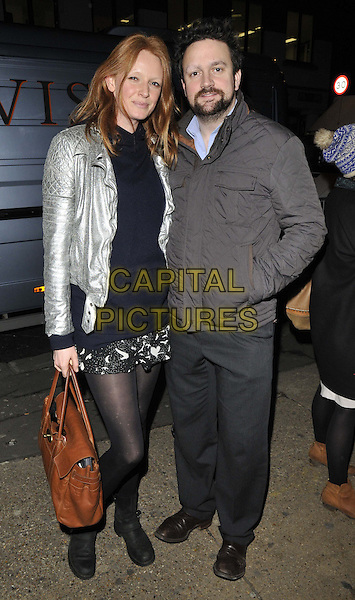 LONDON, ENGLAND - FEBRUARY 27: Olivia Inge &amp; Jez Lawson attend the &quot;War Horse&quot; NT Live gala performance, The New London Theatre, Drury Lane, on Thursday February 27, 2014 in London, England, UK.<br /> CAP/CAN<br /> &copy;Can Nguyen/Capital Pictures