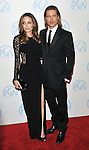 Angelina Jolie and Brad Pitt at the 23rd Annual Producers Guild Awards 2012 held at the Beverly Hilton Hotel, Beverly Hills, CA. January 21, 2012 ©Fitzroy Barrett