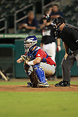 Catcher/First Baseman Joe Altieri (12) of Tampa Jesuit High School participates in the Team One Futures Game East at Roger Dean Stadium on September 25, 2010 in Jupiter, Florida..  (Copyright Mike Janes Photography)