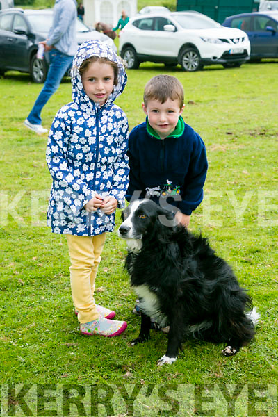 l-r  Keylan Harding, Aaron Harding and Mini Harding at the KERRY PONY SOCIETY 37th Annual Show & Gymkhana At Blennerville on Sunday