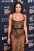 Layla Anna-Lee arriving for the BT Sport Industry Awards 2018 at the Battersea Evolution, London, UK. <br /> 26 April  2018<br /> Picture: Steve Vas/Featureflash/SilverHub 0208 004 5359 sales@silverhubmedia.com