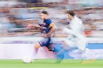 Lionel Andres Messi (l) of FC Barcelona is followed by Mateo Kovacic of Real Madrid during their Supercopa de Espana Final 2nd Leg match between Real Madrid and FC Barcelona at the Estadio Santiago Bernabeu on 16 August 2017 in Madrid, Spain. Photo by Diego Gonzalez Souto / Power Sport Images