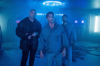 Escape Plan 2: Hades (2018) <br /> Sylvester Stallone, Dave Bautista &amp; Jesse Metcalfe<br /> *Filmstill - Editorial Use Only*<br /> CAP/MFS<br /> Image supplied by Capital Pictures