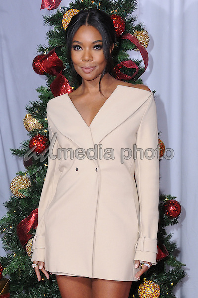 "03 November 2016 - Westwood, California. Gabrielle Union. Premiere Of Universal's ""Almost Christmas"" held at Regency Village Theatre. Photo Credit: Birdie Thompson/AdMedia"