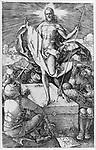 The resurrection, Albrecht Dürer, 1512