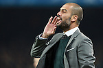 Barcelona's coach Pep Guardiola during Champions League match. March 17, 2010. (ALTERPHOTOS/Tati Quinones)