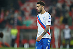 08.11.18 Spartak Moscow v Rangers: Connor Goldson dejection at FT