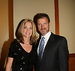 James, Kassie - HOSTS at the 16th Annual Feast with Famous Faces to benefit the League for the Hard of Hearing on October 27, 2008 at Pier Sixty at Chelsea Piers, New York City, New York. (Photo by Sue Coflin/Max Photos)