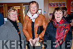 "Rose McElligott, Anne Woods and Anne McCarthy, pictured at Aonghus McAnally ""Celebrating Christie Hennessy"" at Siamsa Tire, Tralee, on Thursday, November 23rd last."