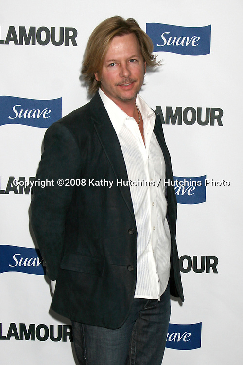 "David Spade arriving at the ""Glamour Reel Moments"" Premieres of a Series of Short Films Written & Directed by Women in Hollywood at the Director's Guild Theater in Los Angeles, CA.October 14, 2008.©2008 Kathy Hutchins / Hutchins Photo...                ."