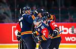 Stockholm 2014-09-05 Ishockey CHL Djurg&aring;rdens IF - Eisb&auml;ren Berlin :  <br /> Djurg&aring;rdens Markus Ljungh  firar sitt 3-1 m&aring;l med lagkamrater<br /> (Foto: Kenta J&ouml;nsson) Nyckelord:  Djurg&aring;rden Hockey Hovet CHL Eisb&auml;ren Berlin jubel gl&auml;dje lycka glad happy