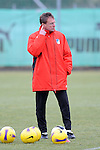 Hoffenheim 24.02.2009, 1.Fu&szlig;ball Bundesliga Training TSG 1899 Hoffenheim, Hoffenheims Trainer Ralf Rangnick<br /> <br /> Foto &copy; Rhein-Neckar-Picture *** Foto ist honorarpflichtig! *** Auf Anfrage in h&ouml;herer Qualit&auml;t/Aufl&ouml;sung. Belegexemplar erbeten.