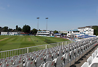 General view of the ground prior to Essex CCC vs Warwickshire CCC, Specsavers County Championship Division 1 Cricket at The Cloudfm County Ground on 16th July 2019