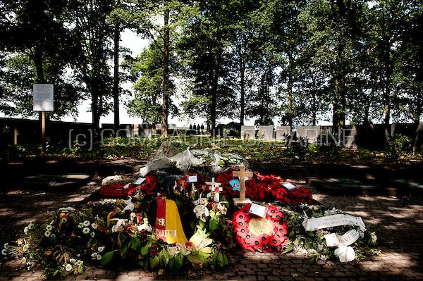 The German war cemetery of Langemark (Belgium, 10/07/2009)
