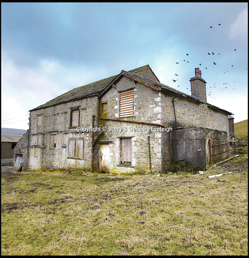 BNPS.co.uk (01202 558833)<br /> Pic: Barry&GenesisEveleigh/BNPS<br /> <br /> Beecroft Hall, Horton in Ribblesdale, Settle, North Yorkshire.<br /> <br /> Loving owners are being sought for hundreds of historic but crumbling buildings across Britain in a desperate bid to prevent them from being lost forever.<br /> <br /> A host of long-forgotten properties from all over the country feature in a newly-compiled 'lonely hearts' list of once-great places which have fallen into disrepair.<br /> <br /> The neglected buildings urgently in need of new owners include listed country piles, cottages and farmhouses, churches and chapels, pubs, shops, a former rifle range and even an WWII anti-aircraft supply depot.<br /> <br /> One hundred dilapidated and threatened buildings have been chronicled in a new book called Falling in Love published by campaign group Save Britain's Heritage in the hope of attracting buyers for them.
