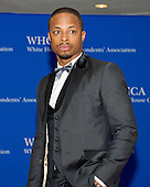 Actor Cornelius Smith, Jr. arrives for the 2016 White House Correspondents Association Annual Dinner at the Washington Hilton Hotel on Saturday, April 30, 2016.<br /> Credit: Ron Sachs / CNP<br /> (RESTRICTION: NO New York or New Jersey Newspapers or newspapers within a 75 mile radius of New York City)