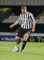 Graeme McGregor in the St Mirren v Dunfermline Athletic Clydesdale Bank Scottish Premier League U20 match played at St Mirren Park, Paisley on 2.10.12.
