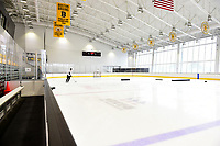 September 11, 2018: Boston Bruins defenseman Zdeno Chara (33) skates by himself during the Boston Bruins training camp at Warrior Ice Arena in Brighton Mass. Eric Canha/CSM
