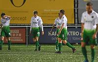 Torhout KM - Jong Lede  :  ontgoocheling bij de spelers van Torhout na de vroege 0-1<br /> Foto David Catry | VDB | Bart Vandenbroucke