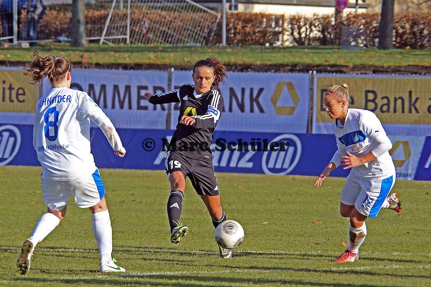 Lira Bajramaj (FFC) zieht ab - 1. FFC Frankfurt vs. TSG 1899 Hoffenheim
