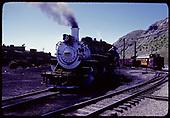 D&amp;RGW #481 K-36 and #497 K-37 at Durango.<br /> D&amp;RGW  Durango, CO