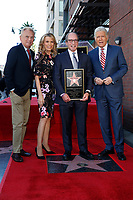 LOS ANGELES - NOV 24:  Pat Sajak, Vanna White, Harry Friedman, Alex Trebek at the Harry Friedman Star Ceremony on the Hollywood Walk of Fame on November 24, 2019 in Los Angeles, CA