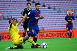 League Santander 2017/2018 - Game: 7.<br /> FC Barcelona vs UD Las Palmas: 3-0.<br /> Mauricio Lemos vs Luis Suarez.