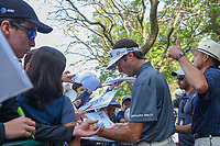 Bubba Watson (USA) signs autographs for fans near the entrance to the practice tee during the preview of the World Golf Championships, Mexico, Club De Golf Chapultepec, Mexico City, Mexico. 2/28/2018.<br /> Picture: Golffile | Ken Murray<br /> <br /> <br /> All photo usage must carry mandatory copyright credit (&copy; Golffile | Ken Murray)