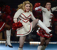 MIAMI, FL - NOVEMBER 20:  Madonna at the final performance of her U.S  'MDNA' tour at the AmericanAirlines Arena on November 20, 2012 in Miami Florida. Credit  mpi04/MediaPunch Inc. /NortePhoto