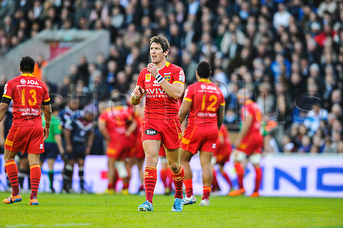 29.03.2014. Bordeaux, France. Top 14 rugby Union. Bordeaux versus Perpignan.  James HOOK (usap)