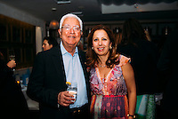 Paul Ohana & Karine Ohana at Ohana & Co Success for Progress Dinner on April 25, 2016 (Photo by Tiffany Chien/Guest Of A Guest)