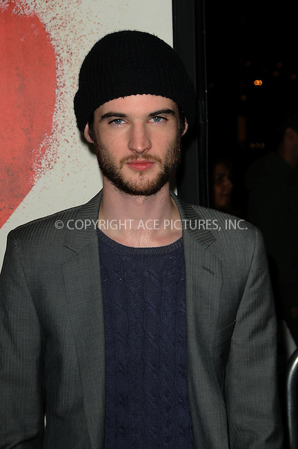 WWW.ACEPIXS.COM . . . . . ....February 1 2011, Los Angeles....Actor Tom Sturridge arriving at the Los Angeles Premiere of 'Waiting For Forever' at the Pacific Theatres at The Grove on February 1, 2011 in Los Angeles, CA ....Please byline: PETER WEST - ACEPIXS.COM....Ace Pictures, Inc:  ..(212) 243-8787 or (646) 679 0430..e-mail: picturedesk@acepixs.com..web: http://www.acepixs.com