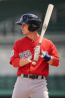 Boston Red Sox Danny Mars (40) during an Instructional League game against the Minnesota Twins on September 23, 2016 at JetBlue Park at Fenway South in Fort Myers, Florida.  (Mike Janes/Four Seam Images)