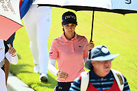 SINGAPORE - MARCH 03: Azahara Munoz of Spain walking-down the 5th during the final round of the HSBC Women's World Championship 2019 at Sentosa Golf Club - Tanjong Course, Singapore on March 03, 2019.<br /> .<br /> .<br /> .<br /> (Photo by: Naratip Golf Srisupab/SEALs Sports Images)<br /> .<br /> Any image use must include a mandatory credit line adjacent to the content which should read: Naratip Golf Srisupab/SEALs Sports Images