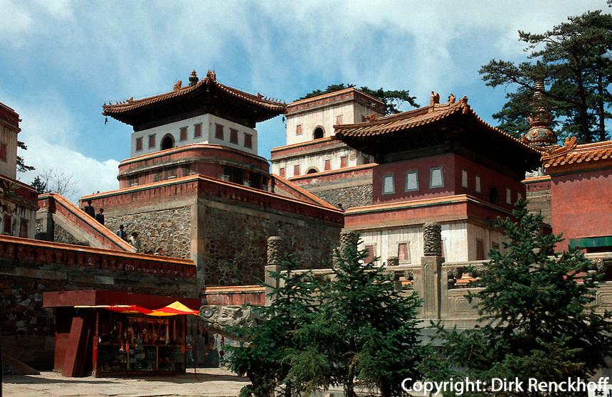 China, Puning Si-Tempel in Chengde, Unesco-Weltkulturerbe