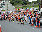 The start of the Clogherhead 10k run. Photo: Colin Bell/pressphotos.ie