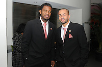 DC United forward Luciano Emilio (left) with midfielder Fred (right)   At the 6th Annual DC United Awards Presentation ,at the Atlas Performing Arts Center in Washington DC ,Wednesday October 27, 2009.
