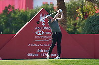 Mike Lorenzo-Vera (FRA) on the 9th tee during the Pr0-Am of the Abu Dhabi HSBC Championship 2020 at the Abu Dhabi Golf Club, Abu Dhabi, United Arab Emirates. 15/01/2020<br /> Picture: Golffile | Thos Caffrey<br /> <br /> <br /> All photo usage must carry mandatory copyright credit (© Golffile | Thos Caffrey)