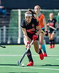 AMSTELVEEN  -  Eva de Goede (A'dam) .  Hoofdklasse hockey dames ,competitie, dames, Amsterdam-Groningen (9-0) .     COPYRIGHT KOEN SUYK