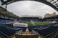 General view inside Stamford Bridge during the International Champions Cup match between Chelsea and Fiorentina at Stamford Bridge, London, England on 5 August 2015. Photo by Andy Rowland.