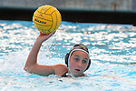 Manhattan Beach, CA 02/16/11 - Sara Crist (Mira Costa #11) in action during the 2011 first round CIF girls waterpolo playoffs between Edison and Mira Costa.