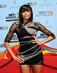LeToya Luckett at the 2009 BET Awards at the Shrine Auditorium in Los Angeles on June 28th 2009..