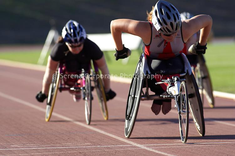 Summer Down Under 2010 Canberra Track Meet Women's T53/54 1500 final