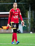 Solna 2015-10-11 Fotboll Damallsvenskan AIK - FC Roseng&aring;rd :  <br /> Roseng&aring;rds m&aring;lvakt Zecira Musovic efter matchen mellan AIK och FC Roseng&aring;rd <br /> (Foto: Kenta J&ouml;nsson) Nyckelord:  Damallsvenskan Allsvenskan Dam Damer Damfotboll Skytteholm Skytteholms IP AIK Gnaget  FC Roseng&aring;rd portr&auml;tt portrait